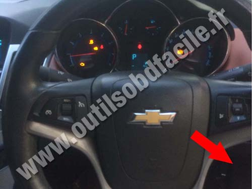 Chevrolet Cruze Steering wheel