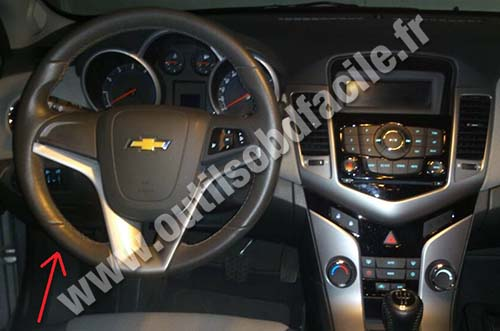 Chevrolet Cruze Dashboard Steering Wheel on Chevrolet 2015 Chevy Tahoe