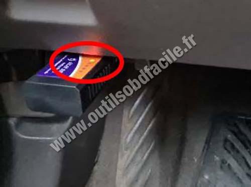 Chevrolet Cruze - OBD port