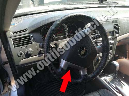 Chevrolet Epica - Steering wheel