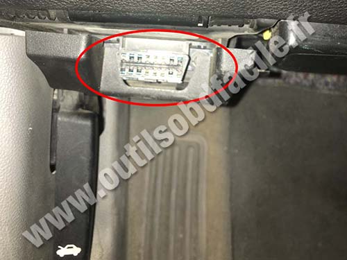 Chevrolet Impala - OBD port