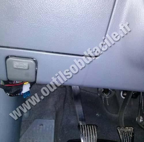 Obd2 Connector Location In Chevrolet Lacetti Outils Obd