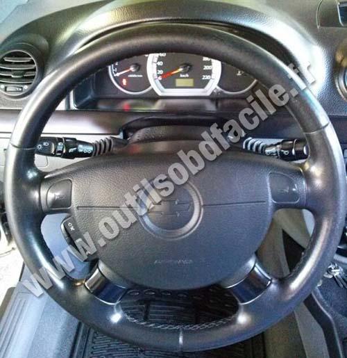 Chevrolet Lacetti dashboard