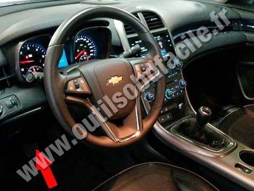 Obd2 Connector Location In Chevrolet Malibu 2013 2015