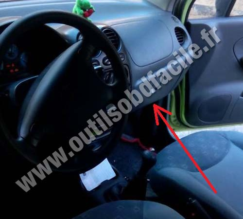 Chevrolet Matiz dashboard