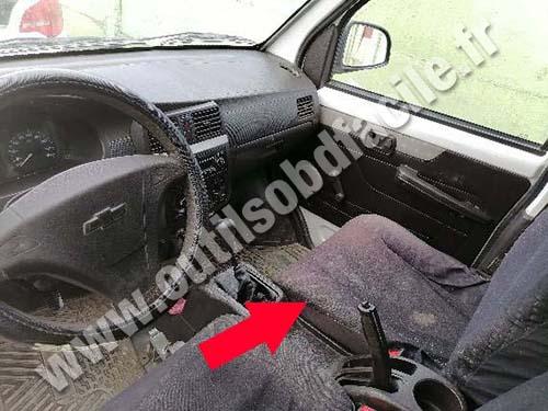 Chevrolet N300 - Dashboard