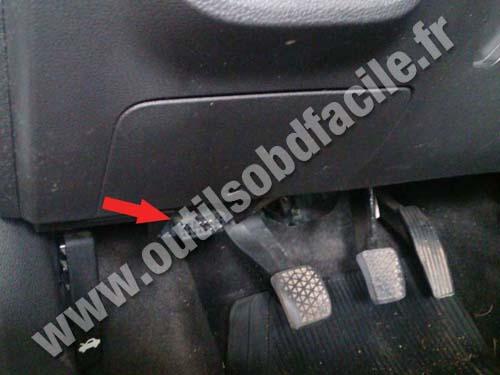 Chevrolet Onix - Pedals
