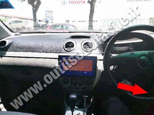 Chevrolet Optra - Dashboard