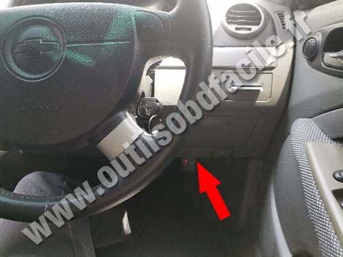 Chevrolet Optra - Pedals