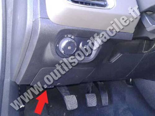 Chevrolet Prisma II - Pedals