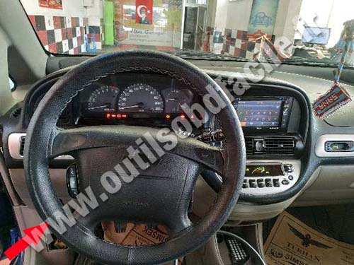 Chevrolet Rezzo - Dashboard