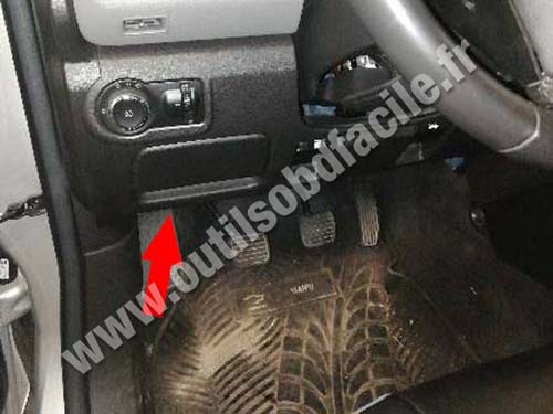 Chevrolet S-10 - Pedals