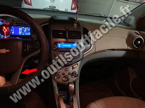 Chevrolet Sonic - Steering wheel