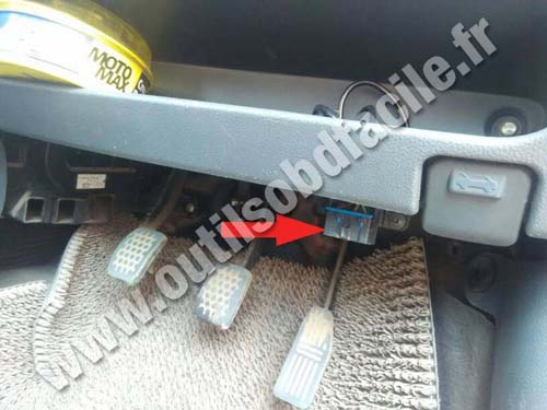 Chevrolet Spark - Pedals