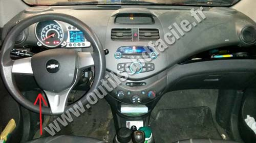Chevrolet Spark dashboard
