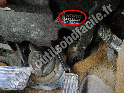 Chevrolet TrailBlazer - OBD port