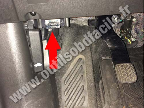 Chevrolet Trax Footrest
