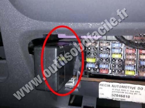 Chevrolet Utility - OBD socket