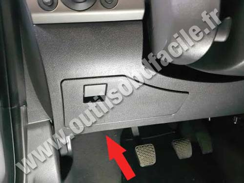 Chevrolet Vectra C - Pedals