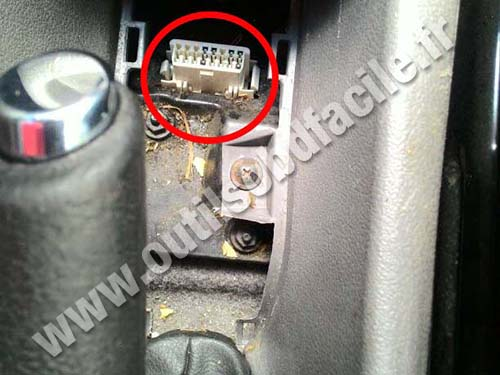 Chevrolet Zafira B OBD Connector