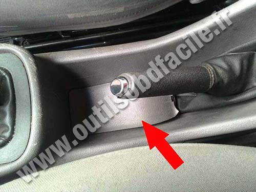 Chevrolet Zafira B Parking brake