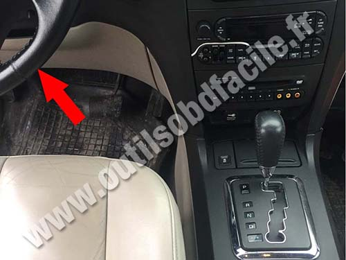 Chrysler Pacifica - Pedals