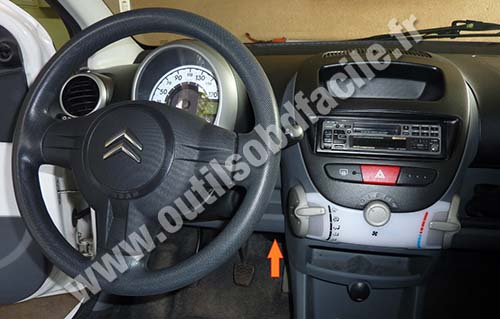 Dashboard Citroen C1