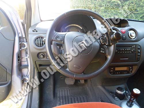 Citroen C2 Dashboard