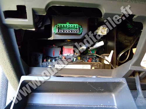 Citroen C2 OBD Connector