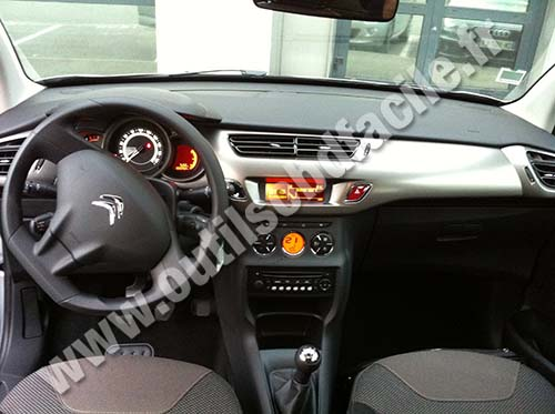 Citroen C3 II Dashboard