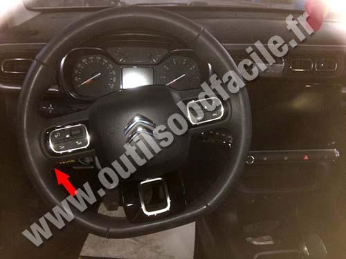Citroen C3 - Steering wheel