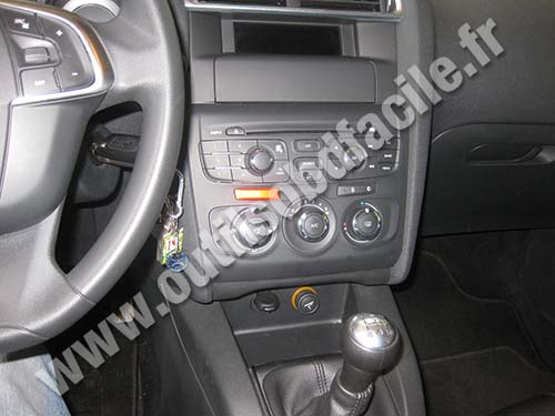 Citroen C4 dashboard