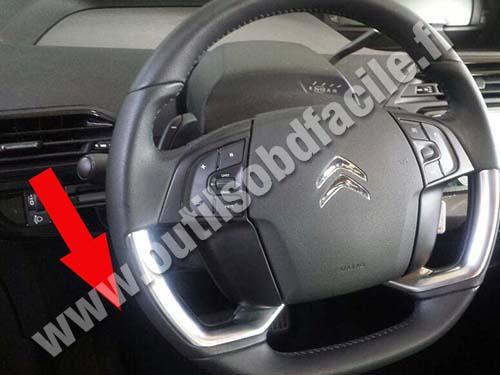 Citroen C4 Picasso Steering wheel