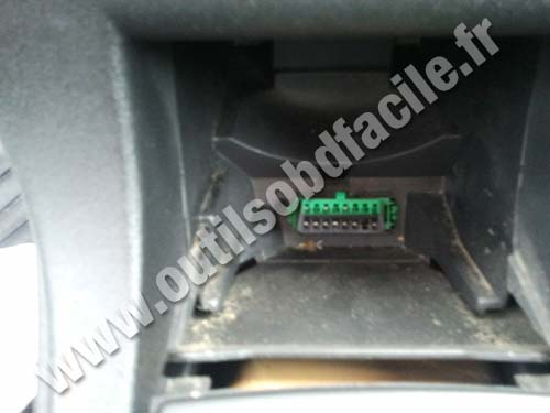 Citroen C4 OBD Connector