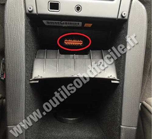 obd2 connector location in citroen c6 (2005 - 2012) - outils obd, Wiring diagram