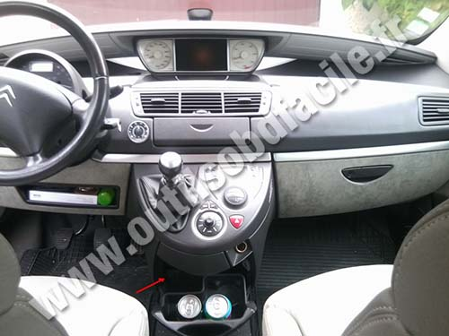 Citroen C8 Dashboard
