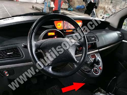 Citroen C8 - Dashboard