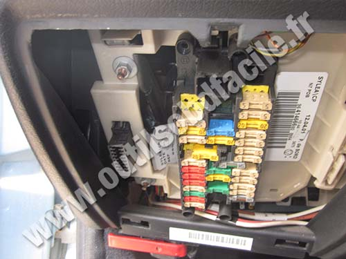 Citroen Xsara OBD connector