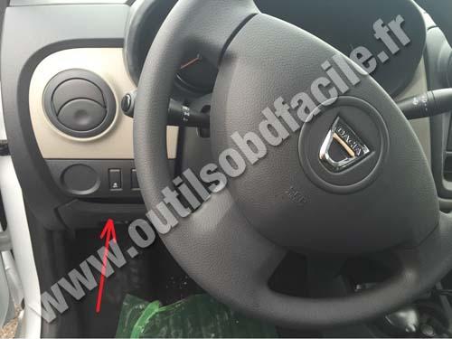 Dacia Dokker dashboard