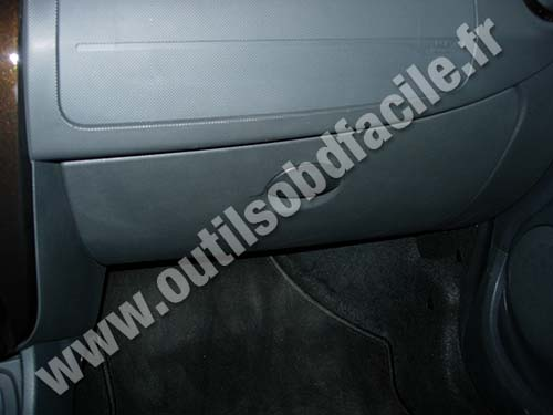 Dacia Duster Glove box