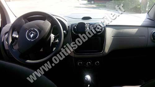 Dacia Lodgy dashboard