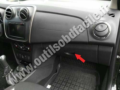 Dacia Sandero 2 - Dashboard