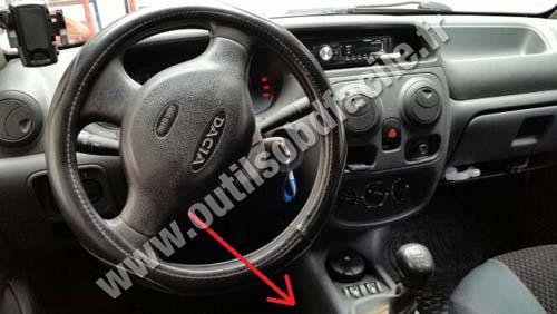 Dacia Solenza dashboard