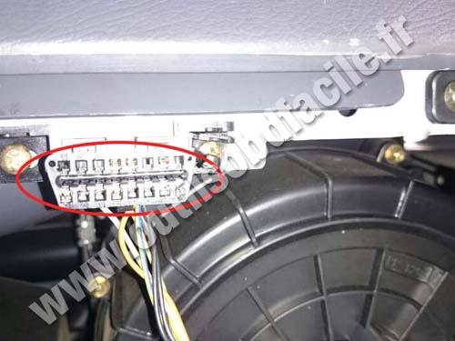 Daewoo Matiz - OBD socket