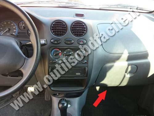 Daewoo Matiz Dashboard