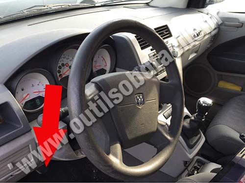 Dodge Caliber Dashboard