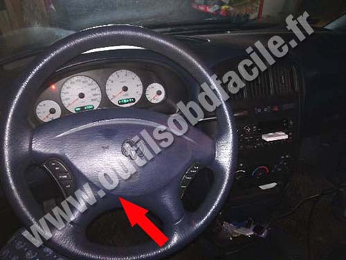 Dodge Grand Caravan - Steering wheel