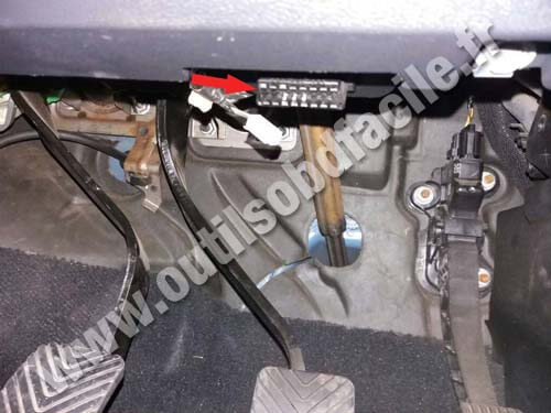 Obd2 Connector Location In Dodge Journey 2007