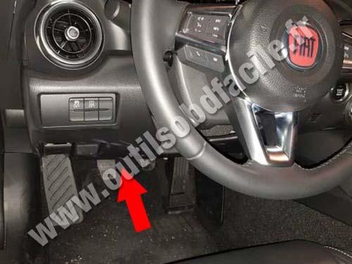 Fiat 124 Spider - Pedals