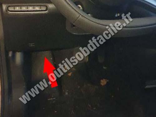 Fiat 500 - Pedals